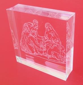 Presepe plexiglass