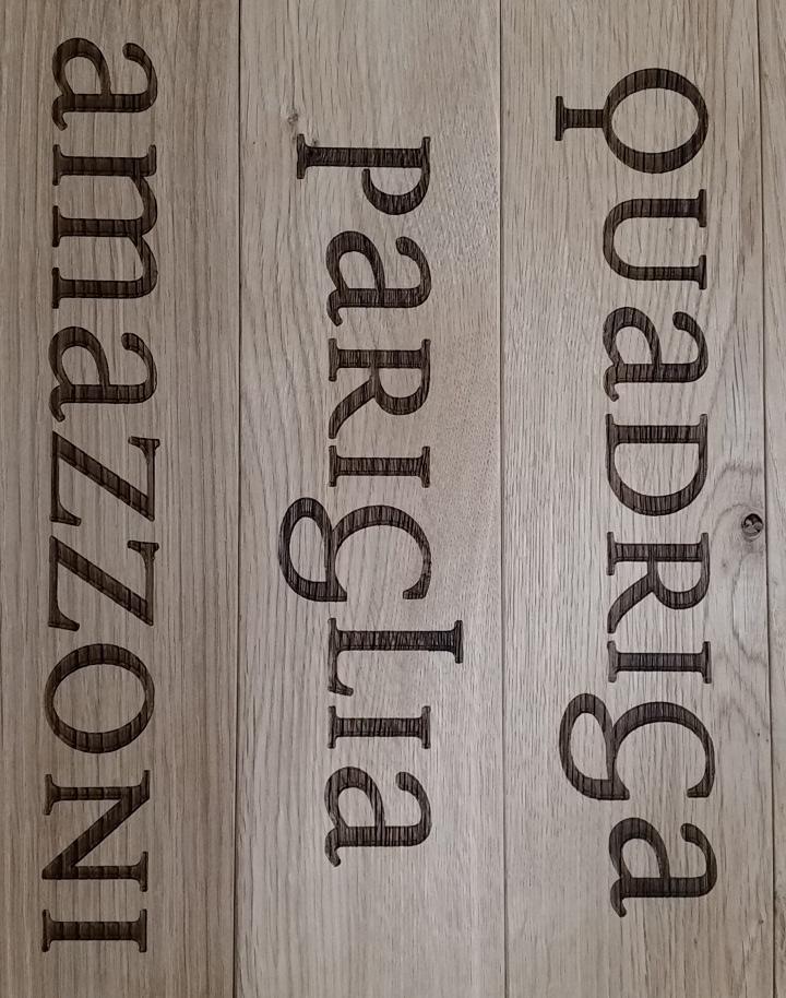 Marcatura incisione laser legno taglio laser for Portaritratti legno