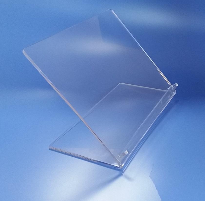 Leggio in plexiglass da tavolo taglio laser - Costruire un leggio da tavolo ...