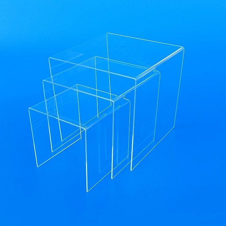 Tavolini a ponte in plexiglass Laser Idea