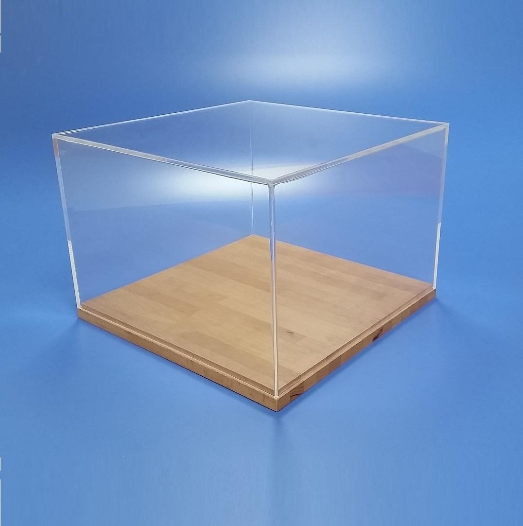teca in plexiglass su misura per collezionismo e modellismo