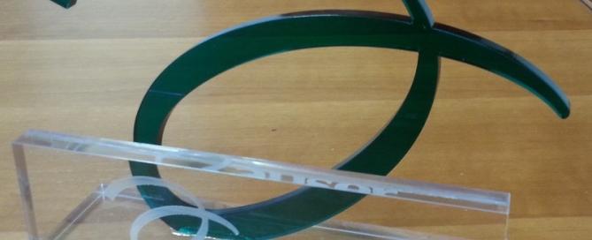 Trofeo plexiglass