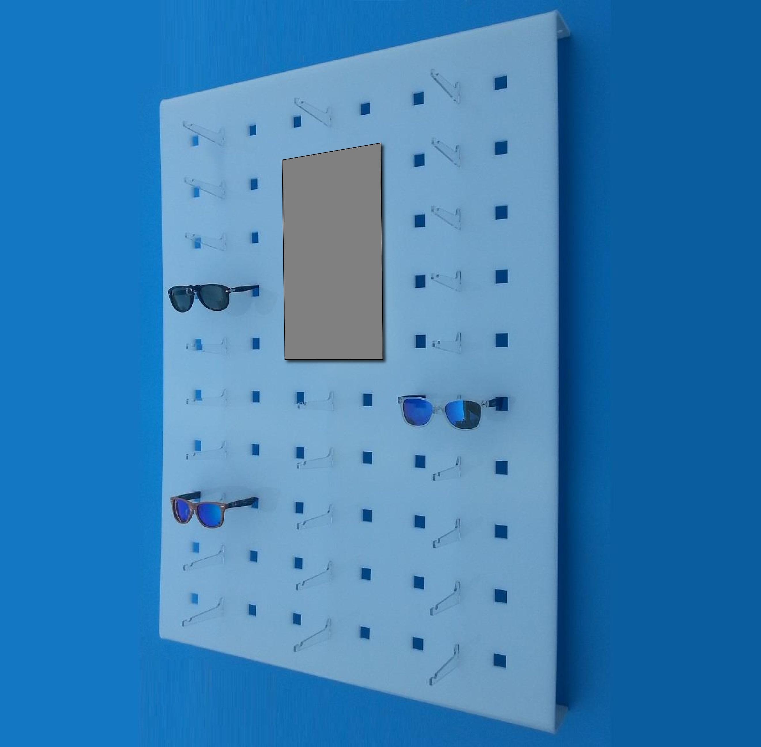 espositore occhiali da parete