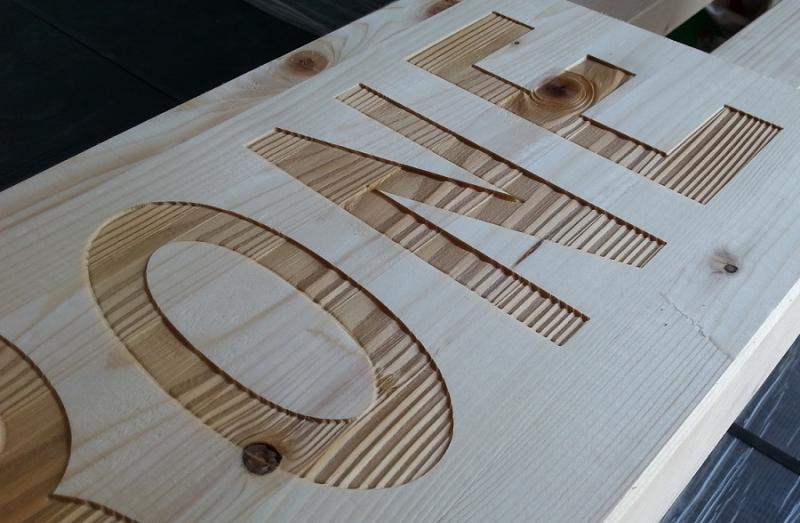 Incisione laser legno