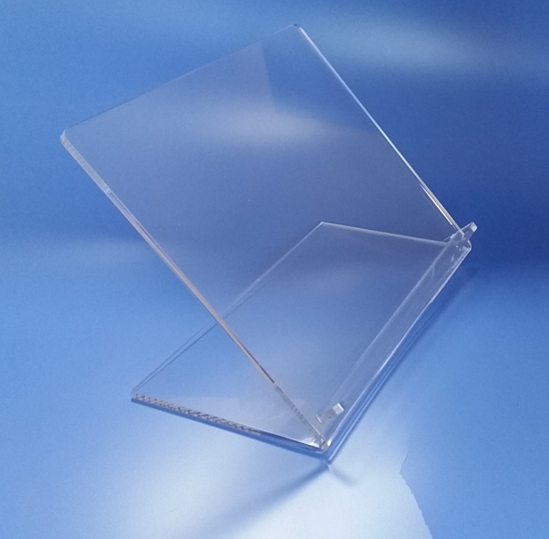 Leggio in plexiglass da tavolo