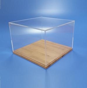 Teche per moTeche per modellismo collezionismo e musei in plexiglass trasparente