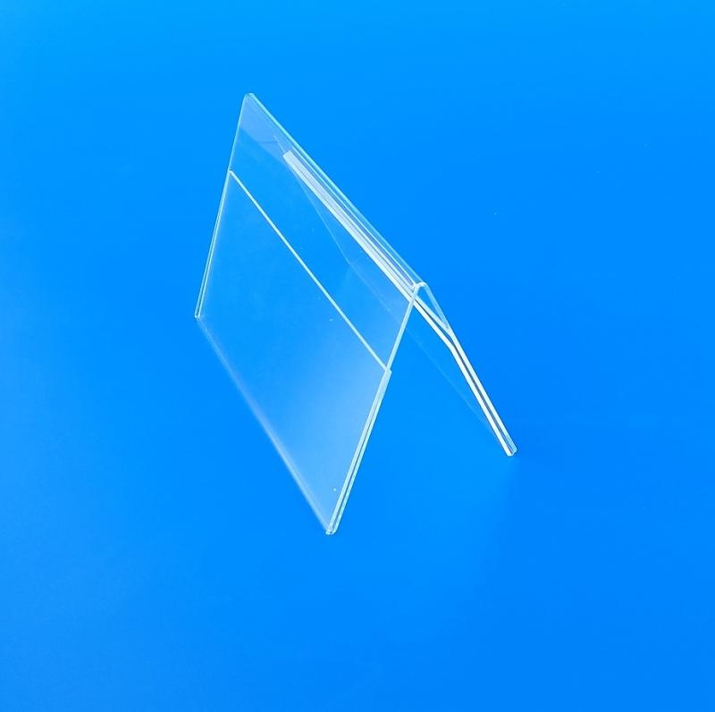 cavaliere portavisual bifacciale plexiglass