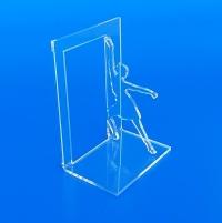 Fermalibro bloccalibro in plexiglass