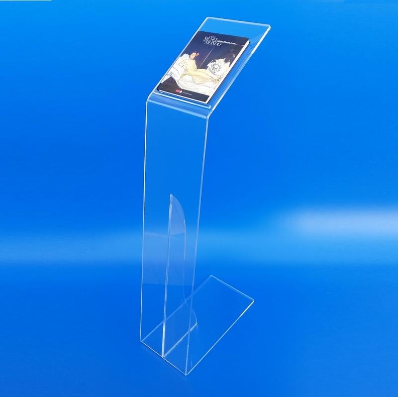Leggio podio in plexiglass