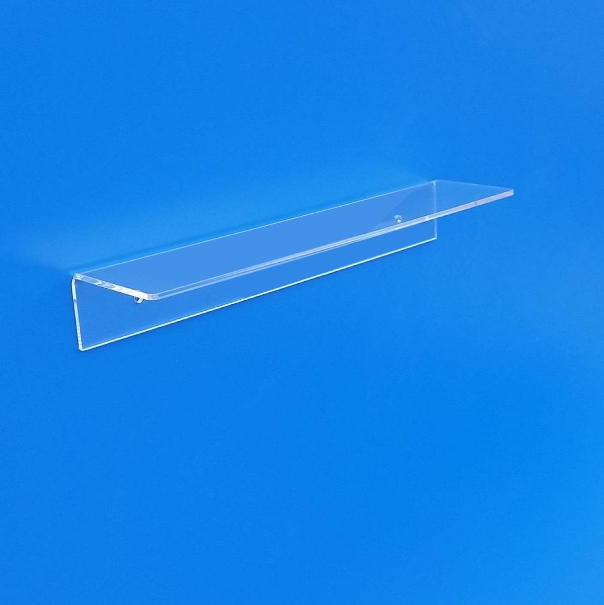 mensole in plexiglass su misura taglio laser