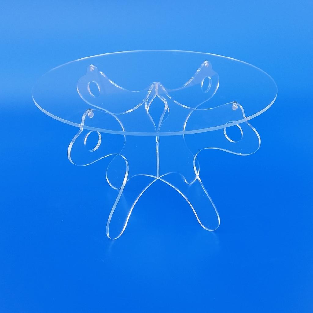 Tavoli tavolini alzatine in plexiglass trasparente ...