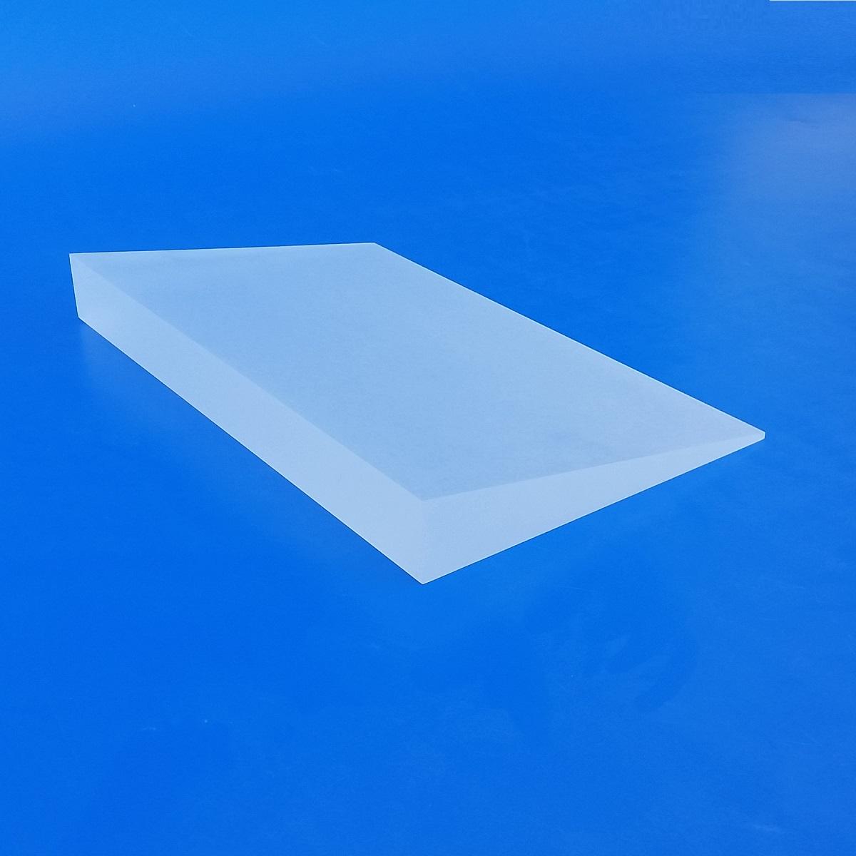 Lavorazione Blocco acrilico plexiglass 3D